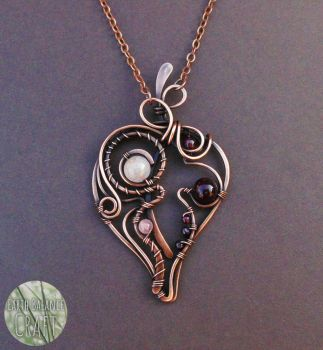 Whispering Leaves Pendant by EarthBalanceCraft