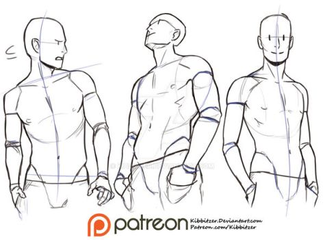 Hands in the pockets Reference sheet by Kibbitzer