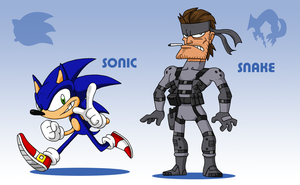 SMASH: Sonic Team by professorfandango