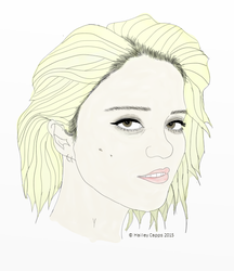 Sky Ferreira by marriedtothemoon