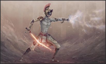 Jedi Gladiator by SUNSHINE1617