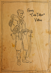 Geery Valtien - DnD Rogue by SilkyNoire