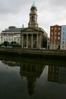 Liffey Reflection by amerindub