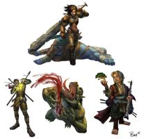 Paizo Characters by PTimm