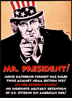 Mr. President! Let the Decision Stand! by poasterchild