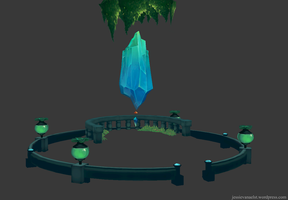 Crystal Environment WIP by sweetangel0467