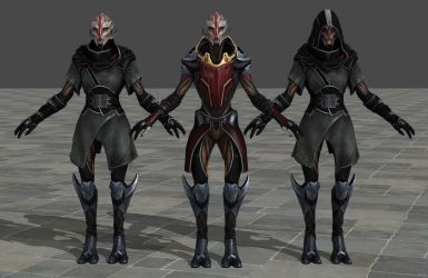 'ME3 Omega DLC' Nyreen Kandros 2.0 XPS ONLY!!! by lezisell