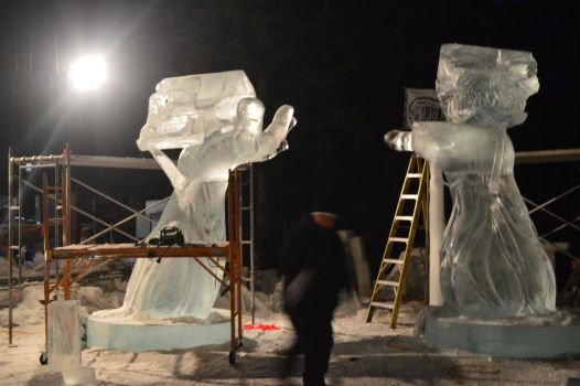 Ice sculpture 70 by Roxy-the-art-nut