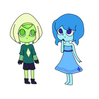 two homeworld kids by PaunyPaws