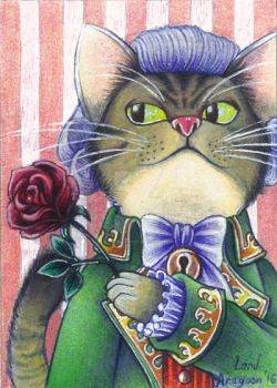 Count von Purrsen (ACEO) by Lord-Giovanni