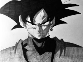 Goku Black Traditional by Kotado