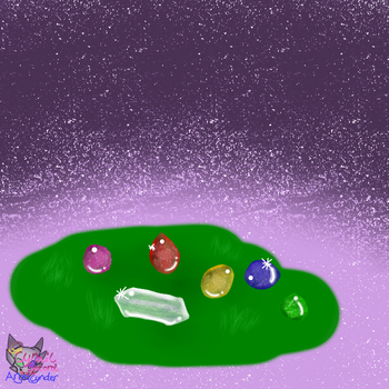 Crystals of the Dream Rayverns by AngelCnderDream14