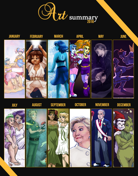 2016 in Fanart by ErinPtah