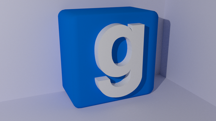 Garry's Mod Logo - Blender Conversion by dexter-roderick