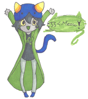Nepeta: Be cute by SqueekyTheBalletRat