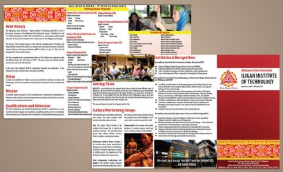 Project: University Brochure: MSU-IIT by RIPpler