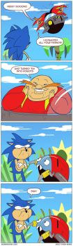 Oh, that Eggman by tysonhesse