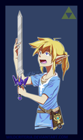 Only Link May Wield It (Breath of the Wild) by WildCriteria