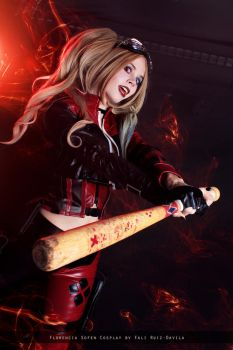Harley Quinn - Injustice 2 - DC Comics by FioreSofen