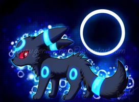 Shiny Umbreon by GenyStar