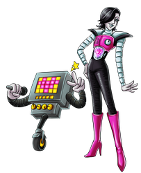 Undertale: Mettaton by Lord-Evell