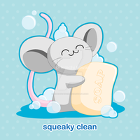 Squeaky Clean by kimchikawaii