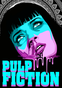 Pulp Fiction by Dana-Ulama