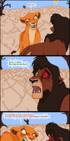 Kiara confronts Kovu by TLK-Peachii
