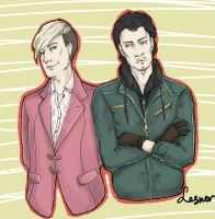 Pagan Min and Ajay Ghale by torylesner