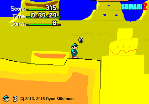 Somari 2: Cheese Valley (GAME IS OUT NOW) by RyanSilberman