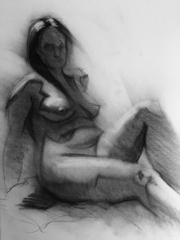 Life Drawing 3 - 20 minutes by bris1985