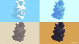 Blender3D Toon Shader Particle Smoke by mclelun