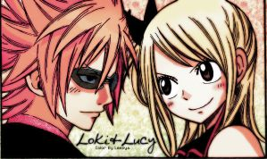 LokixLucy - Fairy Tail by leesya