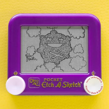 Koffing Etch A Sketch by pikajane