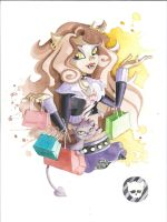 Monster High Commission: Clawdeen Wolf by JAWart728