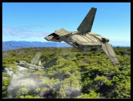 Insertion - Ships in action 1 by unusualsuspex