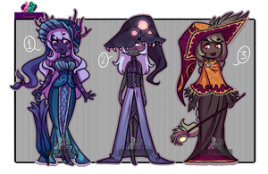 |Auction| 1 pt sb | Witches | closed!| by Proud-Delle