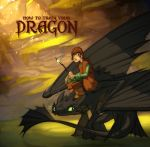 Hiccup and Toothless by nicholaskole