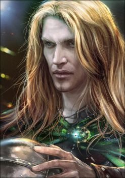 Glorfindel. Before The Storm. by Venlian