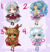 Adoptables: Set 2: SOLD OUT by RaineSeryn