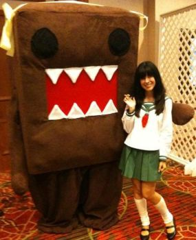 Kagome with Domo by Alluring-Angel