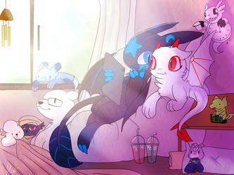 have some chill by nutty-stardragon