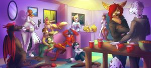 House Party by Vinomath