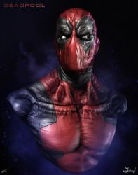 Deadpool by CRYart-UK