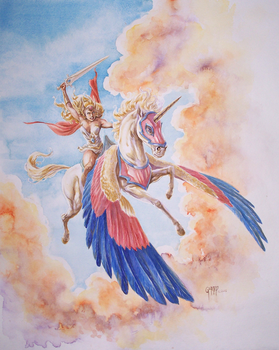 She Ra Commission by cbgorby