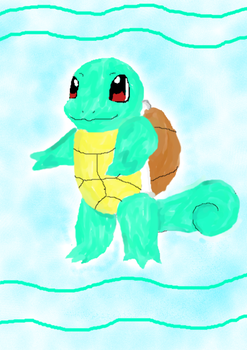 Squirtle by FirestarRules123