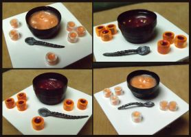 mini Halloween punch bowl sets by Kyle-Lefort