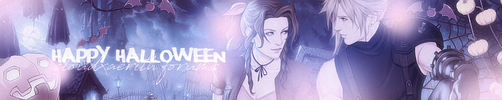 Cloud x Aerith Banner for Clerith forums 3 by Stray-Arrows
