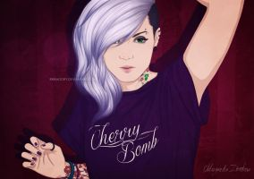 Cherry Bomb by ribkaDory