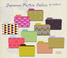 japanese pattern folders by seven4soul